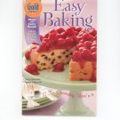 Gold Medal Easy Baking Cookbook Number 40 2003