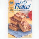 Gold Medal Let's Bake Cookbook Number 30 Muffins Cakes Bars & More 2001