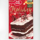 Betty Crocker Holiday Cookbook #178 2001