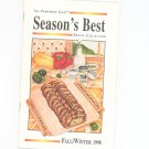 The Pampered Chef Season's Best Recipe Collection Fall Winter 1998