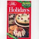 Betty Crocker Holidays Cookbook #111  1995