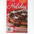 Betty Crocker Holiday Cookbook #227  2005