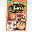 Delightful & Frightful Halloween Recipes Cookbook Favorite Brand Names 2001