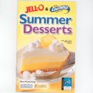 JellO & Coolwhip Summer Desserts Cookbook Favorite Brand Names 2007