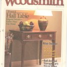 Woodsmith Magazine Back Issue Volume 23 Number 138 December 2001 Formal Hall Table