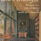 House Beautiful October 1957 Volume 99 Number 10 Back Issue Vintage