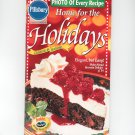 Pillsbury Home For The Holidays Cookbook Classic #225 1999 Cooking & Baking