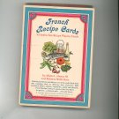 French Recipe Cards 52 Jumbo Recipe Playing Cards Useful & Novelty Golden Press 1969