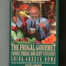 The Frugal Gourmet Cooks Three Ancient Cuisines Cookbook First Edition 0688075894 Jeff Smith