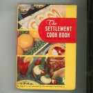 The Settlement Cookbook Reprint 1910 Fourth Edition Vintage American Crayon Company