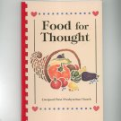 Food For Thought Cookbook Regional Presbyterian Church New York