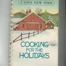 I Love New York Cooking For The Holidays Cookbook Regional Cancer Society New York