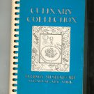 Culinary Collection Cookbook Regional Everson Museum Of Art New York First Printing Vintage