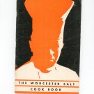 The Worcester Salt Cookbook Vintage 1937