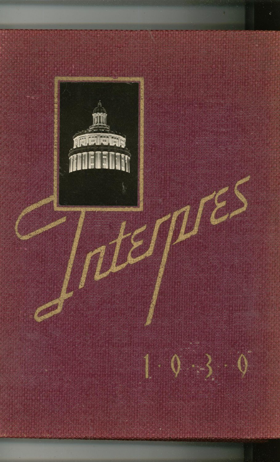 Interpres 1939 Year Book Yearbook University Rochester New York  Advertisements