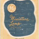 Vintage General Electric Miniature Lamp Catalog 3-413-6