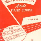 Michael Aaron Adult Piano Course Book One Vintage 1947