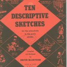 Ten Descriptive Sketches For The Pianoforte In Early Grades Piano Edith McIntosh Vintage
