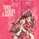 My Fair Lady Hard Cover With Brochure The Most Loverly Motion Picture