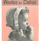 Vintage Woolies For Babies Chadwick's Red Heart Book Number 245 1948 First Edition