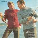 Vintage Columbia Minerva Hand Knits For Men Book Number 763 Plus Classics Collection