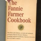 The Fanny Farmer Cookbook Eleventh Edition Hard Cover