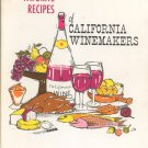 Favorite Recipes Of California Winemakers Cookbooks Hard Cover Vintage 1963