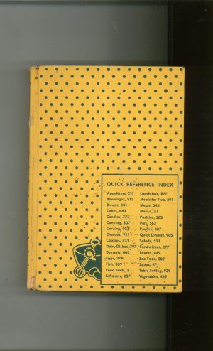 Culinary Arts Institute Encyclopedic Cookbook Vintage Ruth Berolzheimer 1948