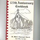 125th Anniversary Cookbook Regional St. Mark's Episcopal Church New York