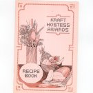 Kraft Hostess Awards Recipe Book Cookbook Vintage 1978 ?