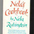 Nela's Cookbook By Nela Rubinstein Hard Cover First Edition 039451761x