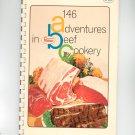 146 Adventures In Beef Cookery Cookbook by Proten Swift Vintage
