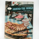 Good Housekeeping's Around The World  Cookbook Vintage 1958 #19