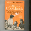 The New Parents' Magazine Family Cookbook Vintage 1974
