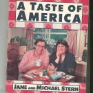 A Taste Of America Cookbook By Jane & Michael Stern 0836221265