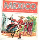 Vintage Mexico 19 Exciting Holidays Travel Guide / Brochure 1969 Berry World Travel