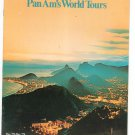 South America Pan Am's World Tours Travel Guide / Brochure 1978 1979