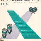 Cha Cha Cha Merengue Time Album Of Songs Vintage