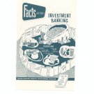Vintage Better Business Bureau Facts You Should Know Investment Banking Booklet 1957