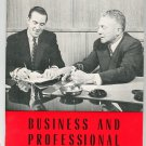 Vintage Encyclopedia Britannica Business & Professional Careers Home Reading Guide 1962