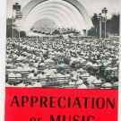 Vintage Encyclopedia Britannica Appreciation Of Music Home Reading Guide