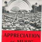Vintage Encyclopedia Britannica Appreciation Of Music Home Reading Guide