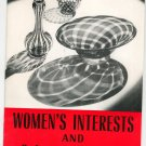 Vintage Encyclopedia Britannica Women's Interests & Cultural Activities Home Reading Guide
