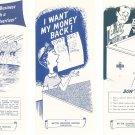 Vintage Lot Of 3 Better Business Bureau Pamphlets Bait Advertiser I Want Money Back Read Before Sign