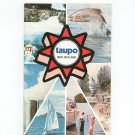 Vintage Taupo New Zealand Travel Guide With Advertisements