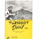 Vintage Tuzigoot Trail & National Monument Travel Guide Arizona  1954