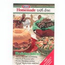 Homemade With Love Holiday Ideas Cookbook Kraft 1988