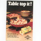 Vintage Table Top It Cookbook West Bend & Land O Lakes Butter 1973