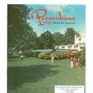 Vintage Pococabana Lodge Brochure Minisink Hills Pennsylvania