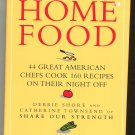 Home Food Cookbook 44 Great American Chefs Hard Cover First Edition 0517597780